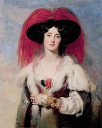 Thomas Lawrence | Lady Peel, 1827 | Giclée Canvas Print