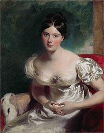 Thomas Lawrence   Margaret, Countess of Blessington, 1822   Giclée Canvas Print