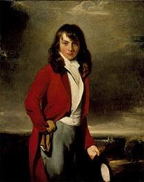 Thomas Lawrence | Portrait of Arthur Atherley as an Etonian, c.1791 | Giclée Canvas Print
