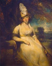 Mrs. Robert Blencowe, c.1792 by Thomas Lawrence | Giclée Canvas Print