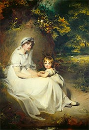 Lady Mary Templetown and Her Eldest Son, 1802 by Thomas Lawrence | Giclée Canvas Print