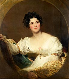 Mrs Littleton, 1822 by Thomas Lawrence | Giclée Canvas Print