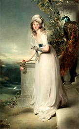 Portrait of Catherine Grey, Lady Manners, 1794 by Thomas Lawrence | Giclée Canvas Print