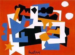 Stuart Davis | Colonial Cubism, 1954 | Giclée Canvas Print