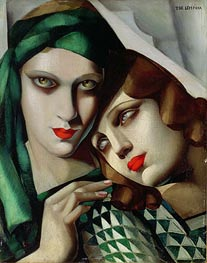 Lempicka | The Green Turban, 1929 | Giclée Canvas Print