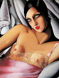 Lempicka | The Pink Blouse, 1933 | Giclée Canvas Print