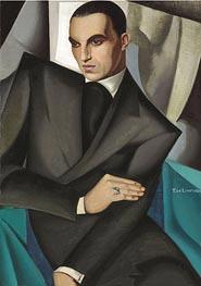 Lempicka | Portrait of Marquis Sommi, 1925 | Giclée Canvas Print
