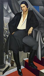 Lempicka | Portrait of the Duchess of La Salle, 1925 | Giclée Canvas Print