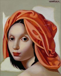 Lempicka | The Orange Turban II, 1935 | Giclée Canvas Print