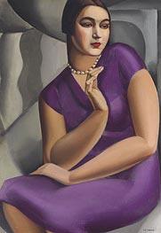 Lempicka | Portrait of Duchesse de Valmy | Giclée Canvas Print