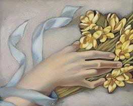 Lempicka | Hand Holding a Wreath, c.1949 | Giclée Canvas Print