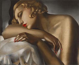 Lempicka | The Sleeping Girl, 1930 | Giclée Canvas Print