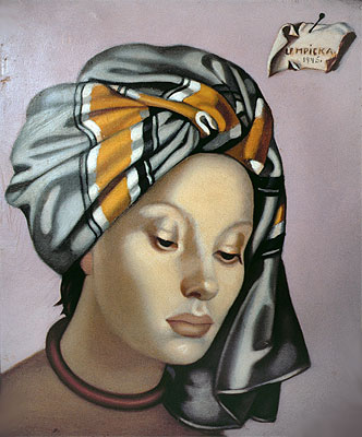 The Grey Turban, 1945 | Lempicka | Painting Reproduction