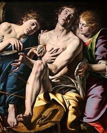 Tanzio da Varallo | Saint Sebastian, c.1620/30 | Giclée Canvas Print
