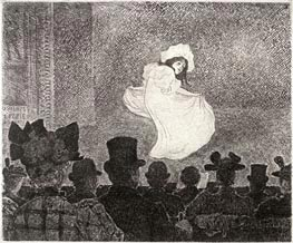 Rysselberghe   La Cafe Concert   Giclée Canvas Print