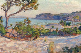 Rysselberghe | Dunes in Faviere | Giclée Canvas Print