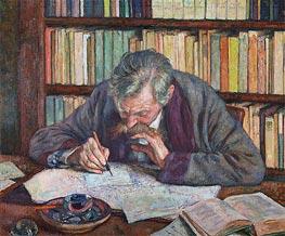 Emile Verhaeren, 1915 by Rysselberghe | Giclée Canvas Print