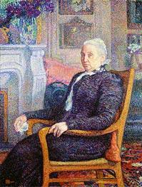 Madame Monnom, 1900 by Rysselberghe | Giclée Canvas Print