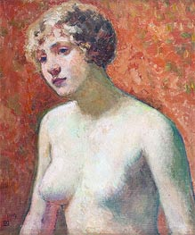 Rysselberghe | Bust of a Young Girl, 1914 | Giclée Canvas Print