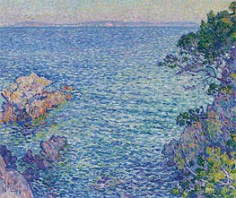 Rysselberghe | La pointe du Rossignol, 1904 | Giclée Canvas Print