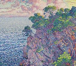 Rysselberghe | La pointe du Rossignol (Cap Layet), 1905 | Giclée Canvas Print