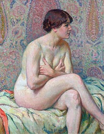 Rysselberghe | Seated Nude, 1916 | Giclée Canvas Print