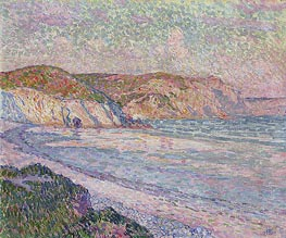 Rysselberghe | Morgat Beach, 1904 | Giclée Canvas Print