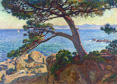 Le Pin de la Fossette, 1919 | Rysselberghe | Painting Reproduction