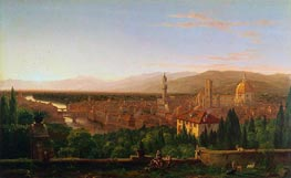 Thomas Cole | View of Florence, 1837 | Giclée Canvas Print