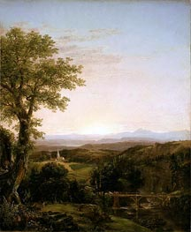 Thomas Cole | New England Scenery, 1839 | Giclée Canvas Print