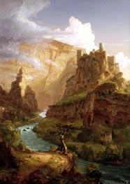 Thomas Cole | The Fountain of Vaucluse, 1841 | Giclée Canvas Print