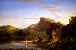Thomas Cole | L'Allegro, 1845 | Giclée Canvas Print