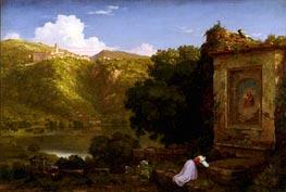 Thomas Cole | Il Penseroso, 1845 | Giclée Canvas Print