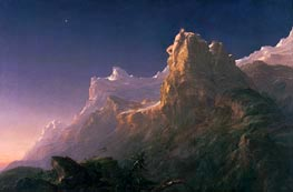 Thomas Cole | Prometheus Bound, c.1846/47 | Giclée Canvas Print