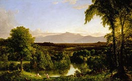 Thomas Cole | View on the Catskill (Early Autumn Overall), c.1836/37 | Giclée Canvas Print