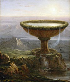 Thomas Cole | The Titan's Goblet, 1833 | Giclée Canvas Print