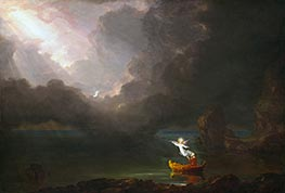 Thomas Cole | Voyage of Life - Old Age, 1842 | Giclée Canvas Print