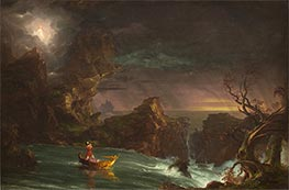 Thomas Cole | Voyage of Life - Manhood, 1842 | Giclée Canvas Print