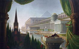 Thomas Cole | The Architect's Dream, 1840 | Giclée Canvas Print