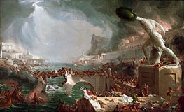 Thomas Cole | Course of Empire - Destruction, 1836 | Giclée Canvas Print