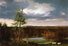 Thomas Cole | Landscape, the Seat of Mr. Featherstonhaugh in the Distance, 1826 | Giclée Canvas Print