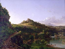 Thomas Cole | Catskill Scenery, c.1833 | Giclée Canvas Print