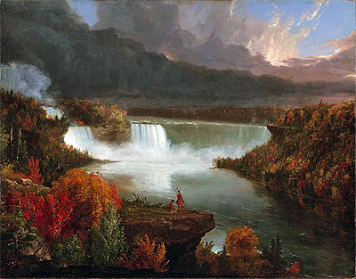 Distant View of Niagara Falls, 1830 | Thomas Cole | Painting Reproduction
