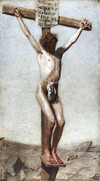 Thomas Eakins | The Crucifixion, 1880 | Giclée Canvas Print