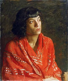 Thomas Eakins | The Red Shawl, c.1890 | Giclée Canvas Print