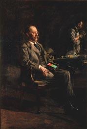 Thomas Eakins   Professor Henry A. Rowland, 1897   Giclée Canvas Print