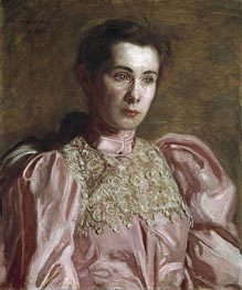 Thomas Eakins | Miss Gertrude Murray, 1895 | Giclée Canvas Print