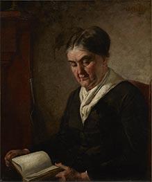 Portrait of a Woman Reading, Undated by Thomas Eakins | Giclée Canvas Print