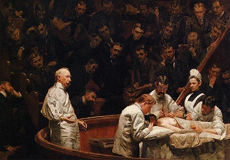 Thomas Eakins | The Agnew Clinic, 1889 | Giclée Canvas Print