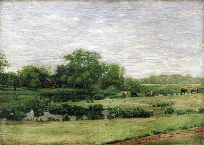 The Meadows, Gloucester, c.1882/83 | Thomas Eakins | Painting Reproduction